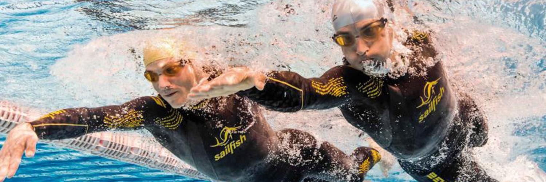SAILFISH Neopren Testschwimmen
