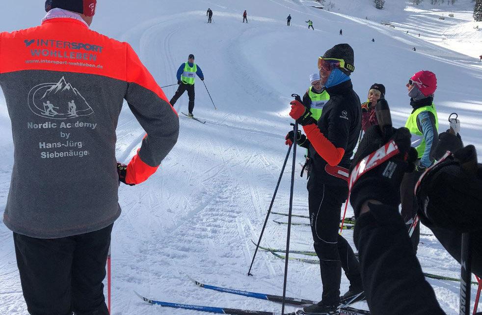 Langlauf erleben mit der Nordic-Academy by Hans-Jürgen Siebenäuger