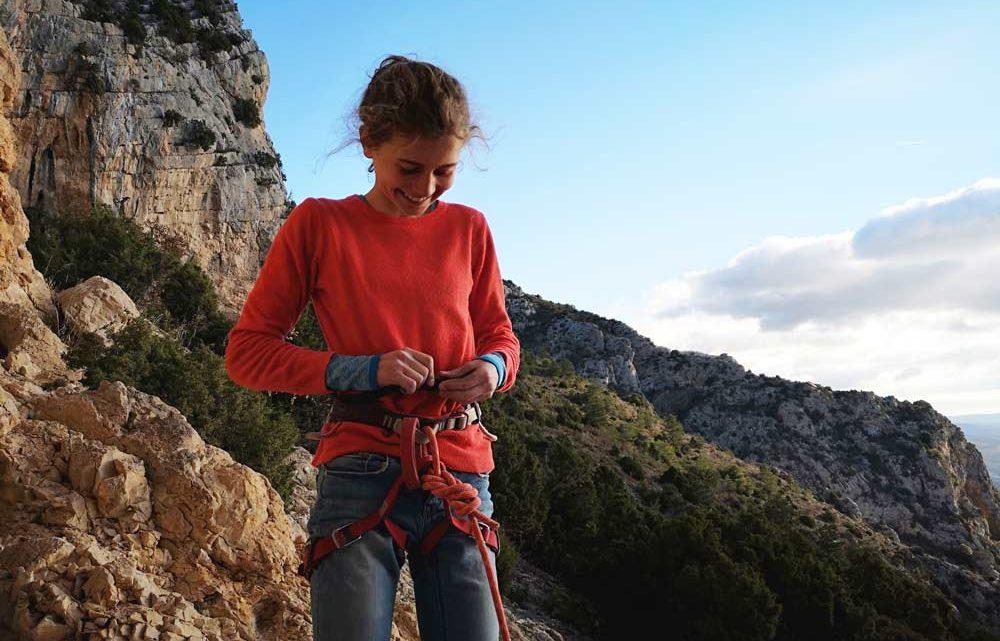 Jana Meus-Willenskraft als entscheidender Faktor beim Klettern