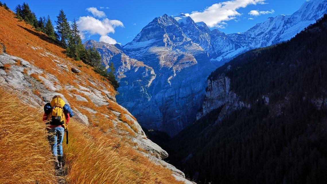 Klettertrip durch die Schweiz und Frankreich
