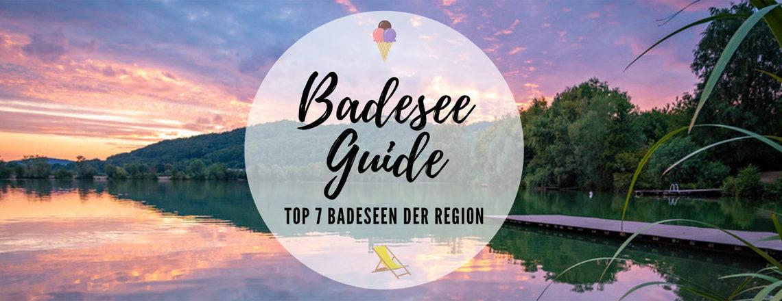 Badesee Guide für die Region Coburg