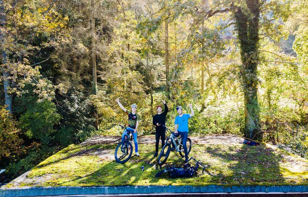 Der Schlüsseldienst kommt nach Coburg – Mountainbiken mal ein bisschen anders