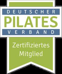 Pilates zertifiziertes Mitglied