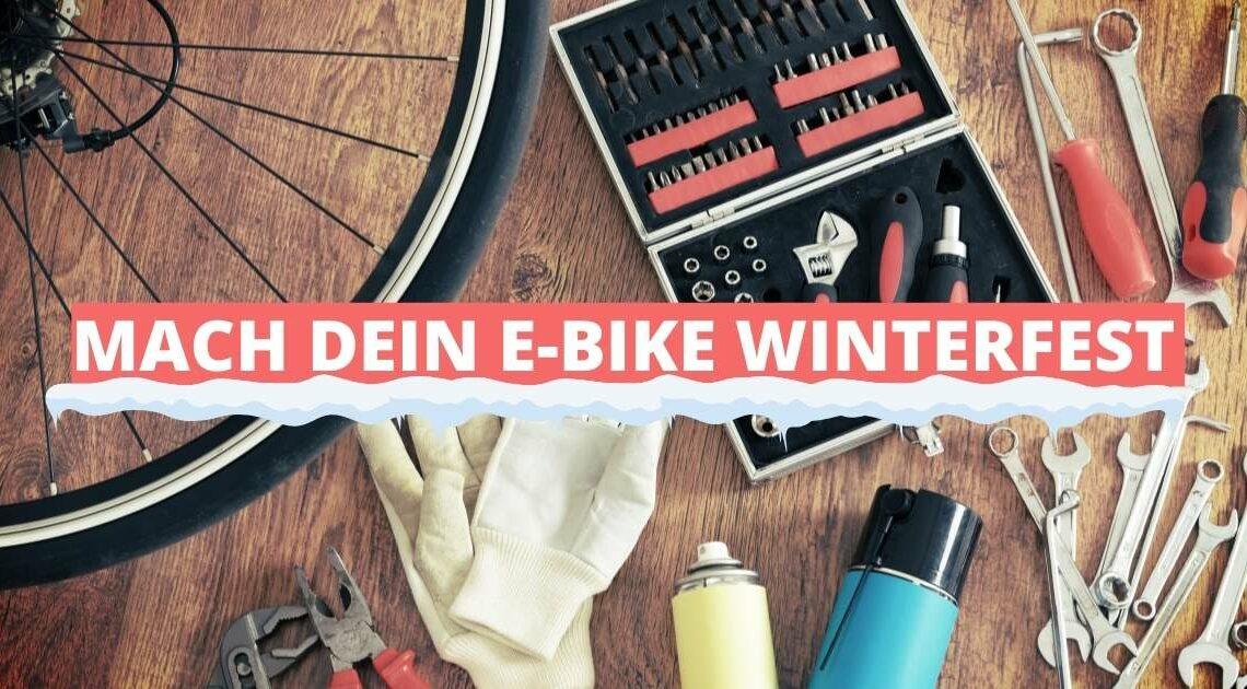 E-Bike winterfest machen – so geht's