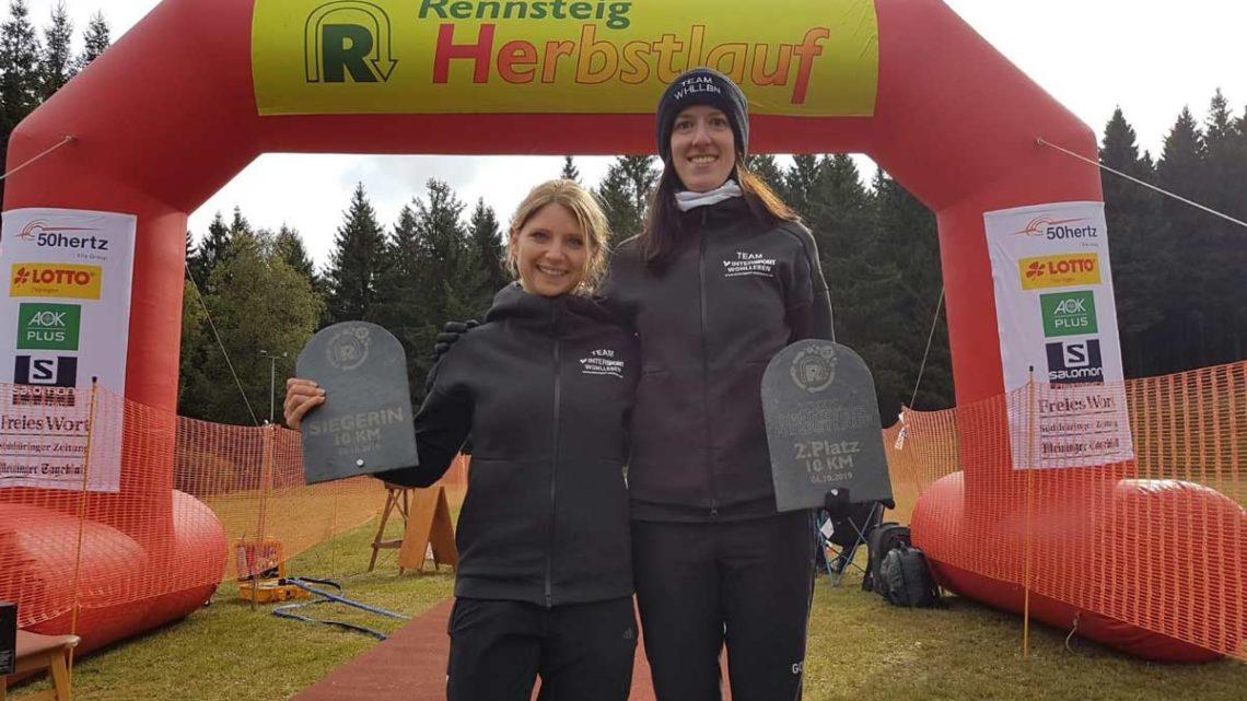 Kathrin und Vera mit Doppelsieg beim Herbstlauf