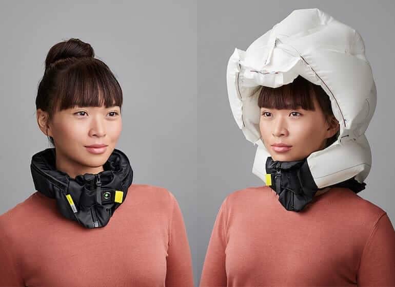 Hövding 3. Der weltweit sicherste Kopfschutz