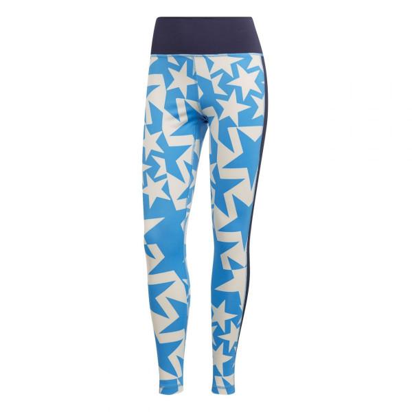 adidas Damen Sporthose Believe This Tight Blau
