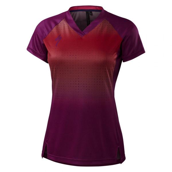 Damen Fahrradtrikot Andorra Jersey Short Sleeve Wmn