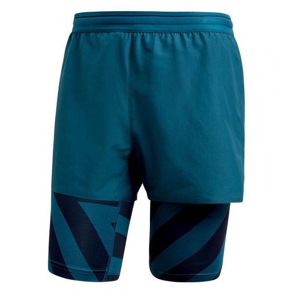 Herren Trekkinghose Agravic 2in1 Shorts