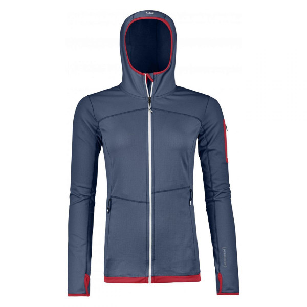 Damen Fleecejacke Merino Fleece Light Hoody