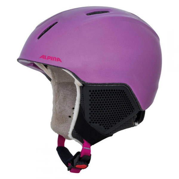 Kinder Skihelm Carat LX 53 berry