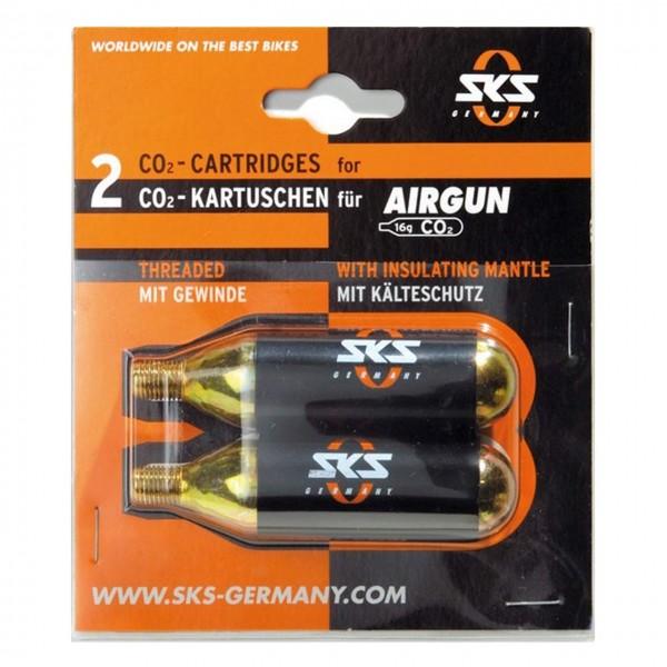Luftpumpen Ersatzkartuschen Airchamp 2 x 16 g