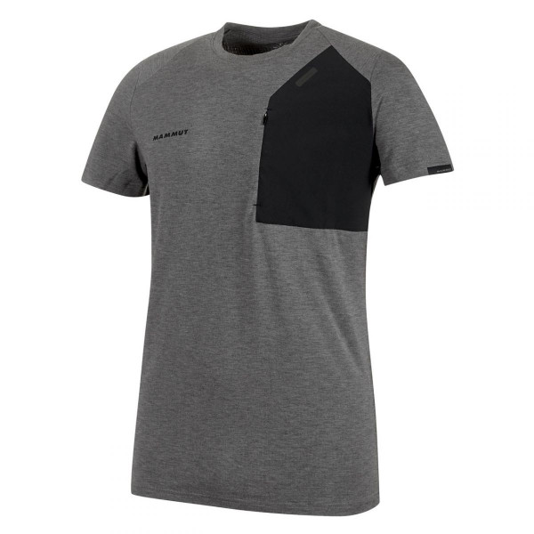 Herren Klettershirt Crashiano Pocket T-Shirt