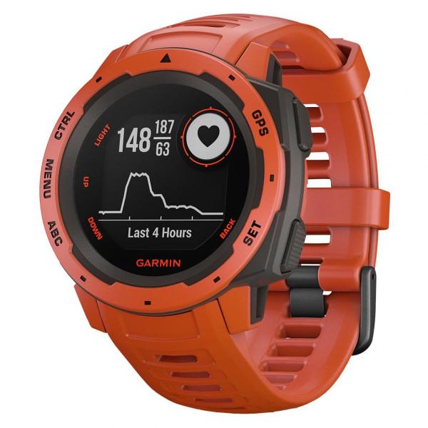 GPS-Multisportuhr Instinct Flame Red