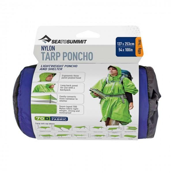 Regenponcho Nylon Tarp Poncho
