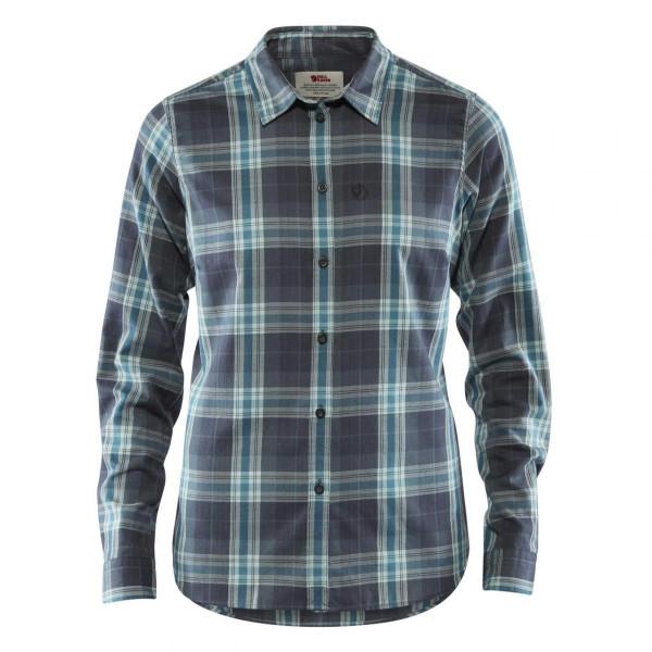 Damen Wanderhemd Övik Flannel Shirt
