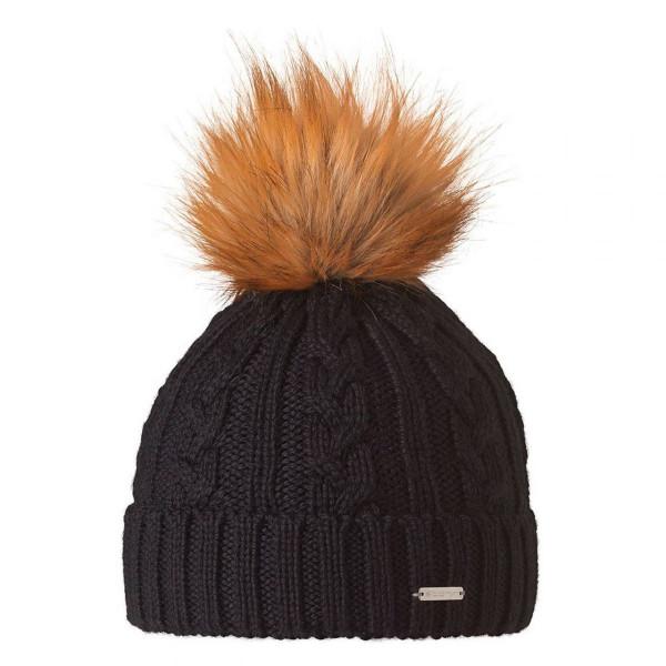 Wollmütze Edis Mütze schwarz