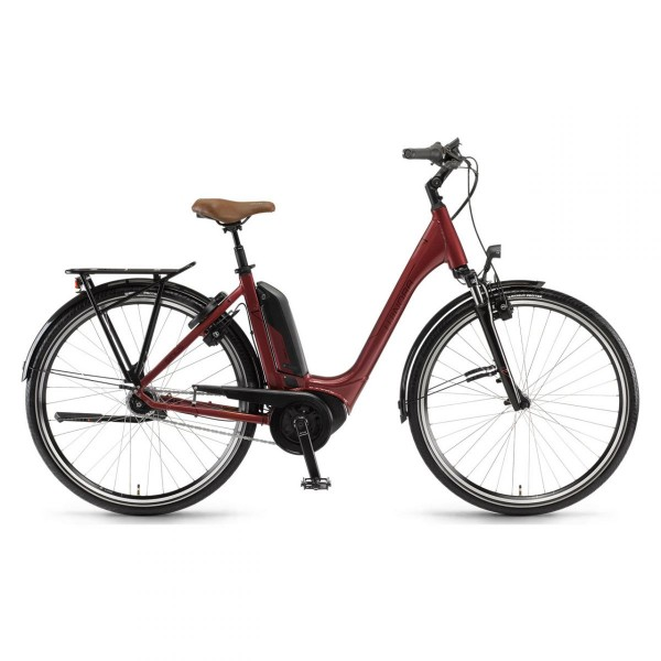 Damen E-Bike City Sinus Tria N7F Einrohr
