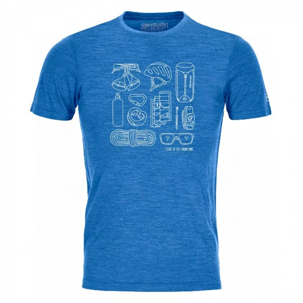 Herren T-Shirt 120 Cool Tec Puzzle