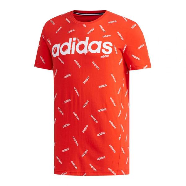 Herren T-Shirt Print Tee