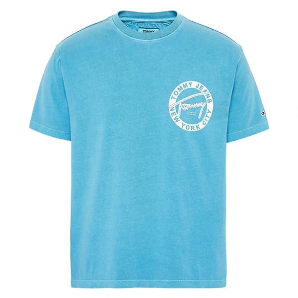 Herren T-Shirt Washed Graphic Logo