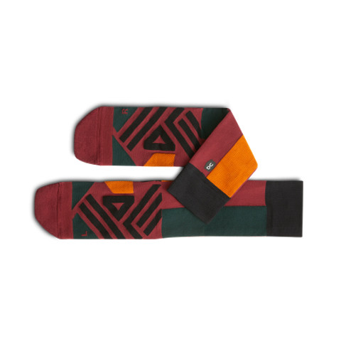 High Sock 00106 Mulberry/Pecan