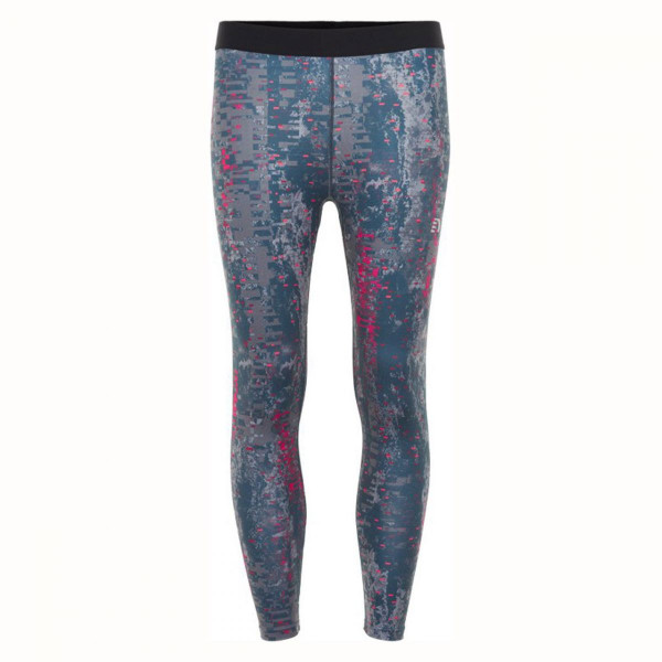 Damen Sporthose Black Printed 7/8 Tight