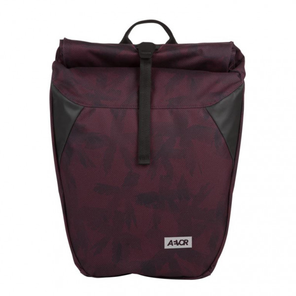 Rucksack Daypack Rolltop Palm Red