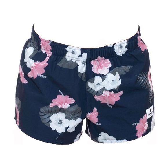 Damen Laufhose Floral Pace Shorts 2.0