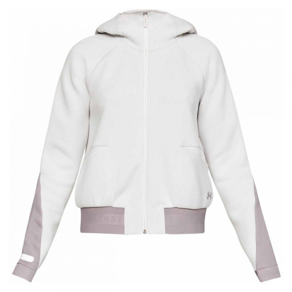 Damen Jacke UA Unstoppable Move Oberteil mit Zip
