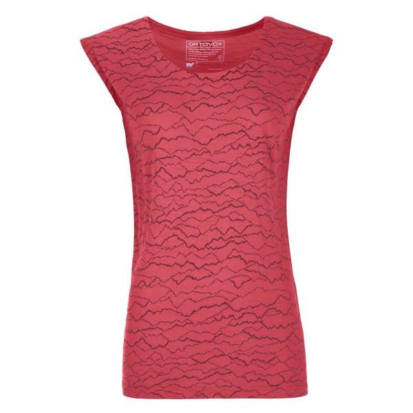 Damen T-Shirt 120 TEC Mountainlines TS