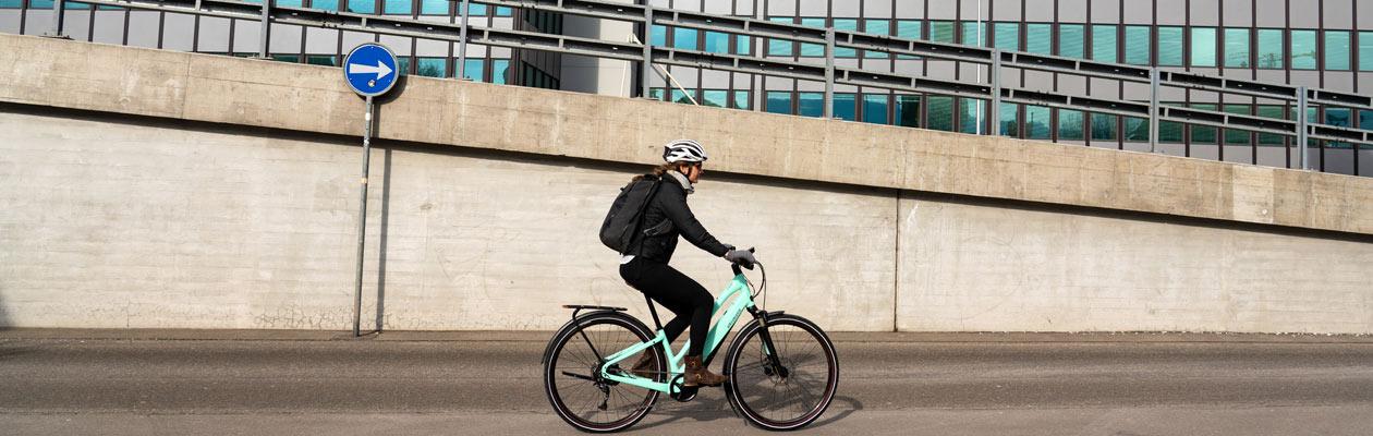 Fahrrad-Probefahrt