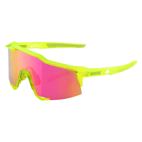 Sportbrille Speedcraft Small Mirror Lens acidulous
