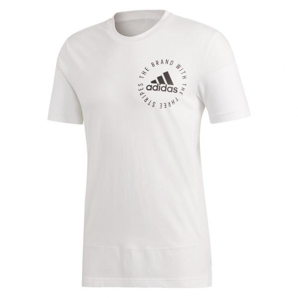 Herren Sport T Shirt Sport Id Tee Mesh Kurz Oberteile