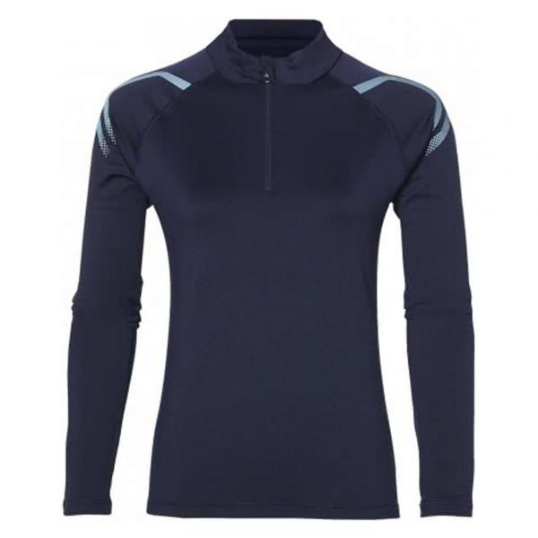 Damen Laufshirt Icon Winters LS 1/2 Zip Top