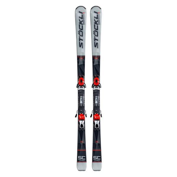 Sportcarving Ski Laser SC D 20 + Bindung MC 12 Red