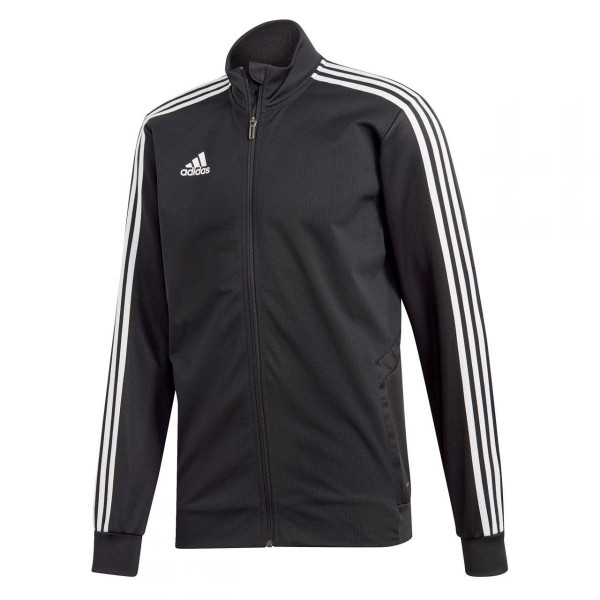 Herren Fußballjacke Tiro 19 Black