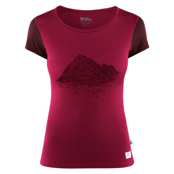 Damen T-Shirt Keb Wool