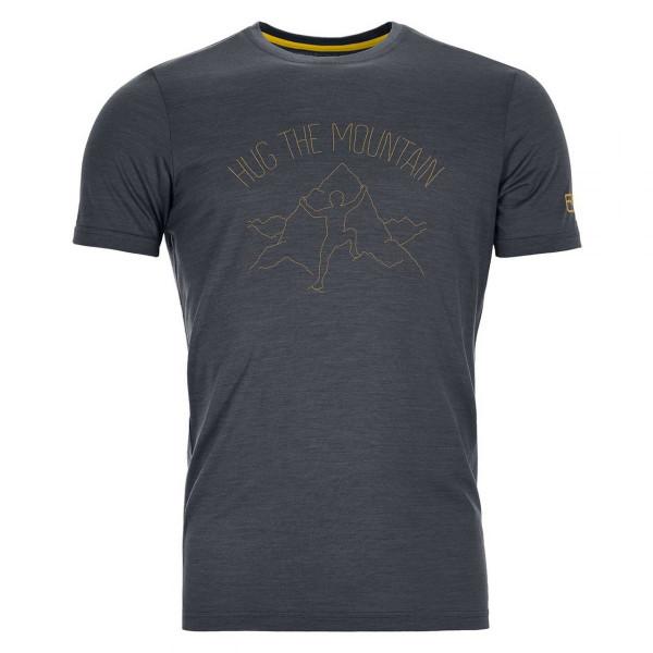 Herren Wandershirt 150 Cool Hug T-shirt Merino