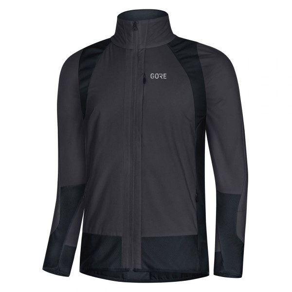 Herren Radjacke C5 Partial GORE® WINDSTOPPER®