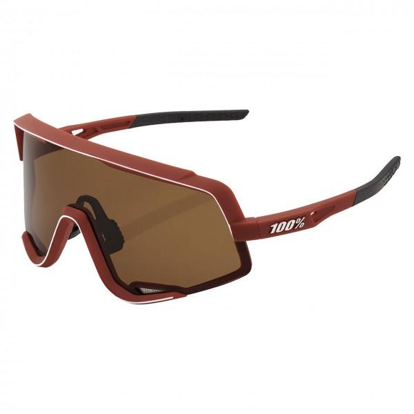 Sportbrille Glendale Colored Lens soft tact bordeaux