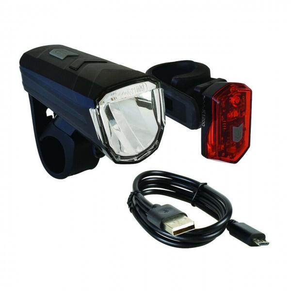 Fahrrad LED Beleuchtungs-Set BLS 1