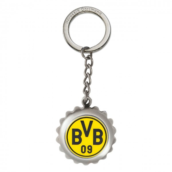 Schlüsselanhänger Kronkorken BVB