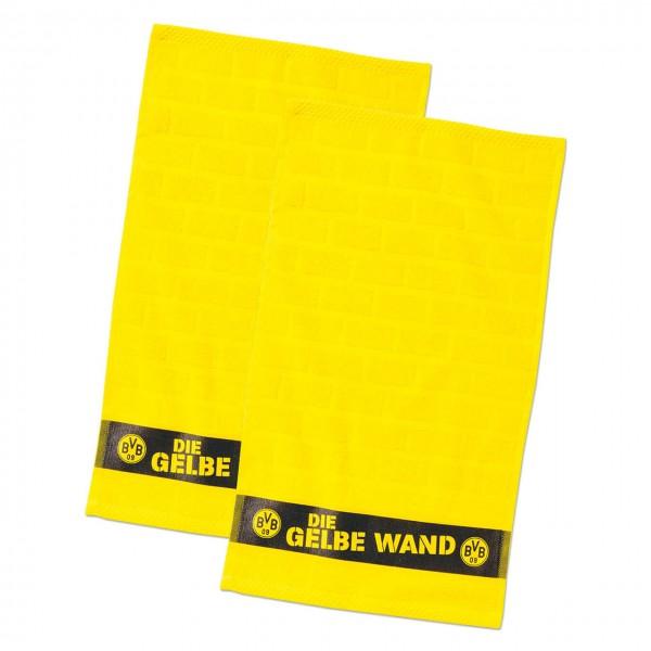 Gästehandtücher Gelbe Wand 2er Set BVB