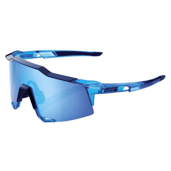 Sportbrille Speedcraft Polished Translucent HiPER Silver Mirror Lens