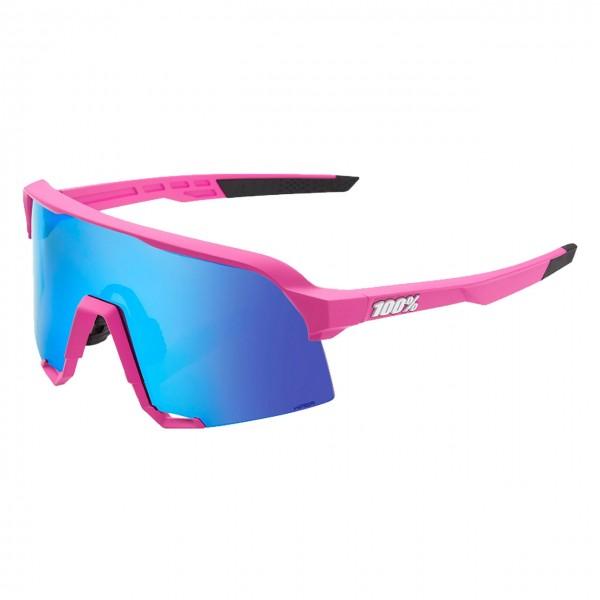 Damen Sportbrille S3 HiPER® Blue Multilayer Mirror Lens Pink