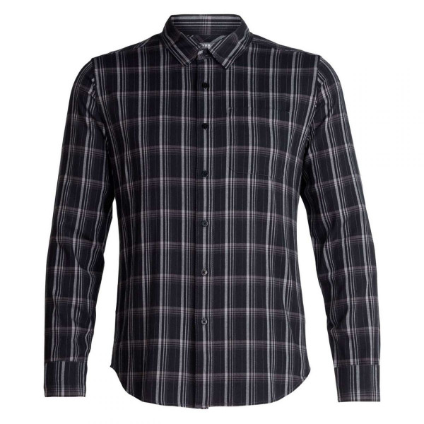 Herren Hemd Compass Flannel Long Sleeve Shirt
