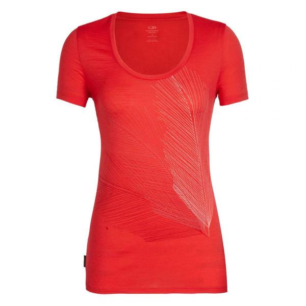 Damen Merino T-Shirt Tech Lite Scoop Plume