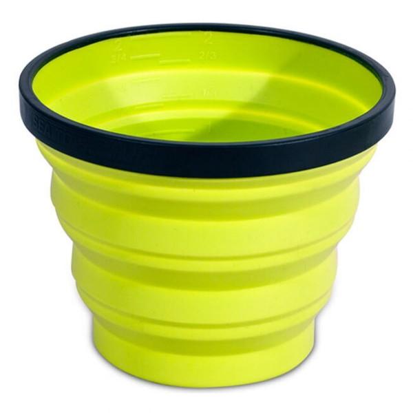 Faltbecher X-Cup Lime 250 ml