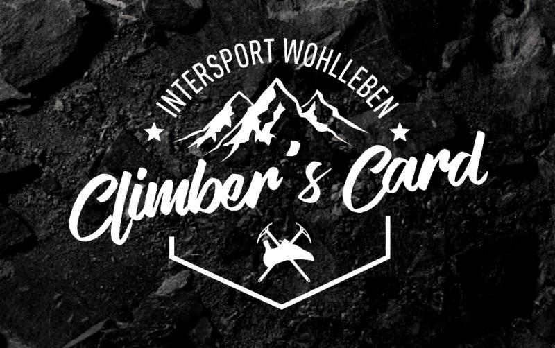 Klettergurt Set Intersport : Climberscard bei intersport wohlleben alle infos